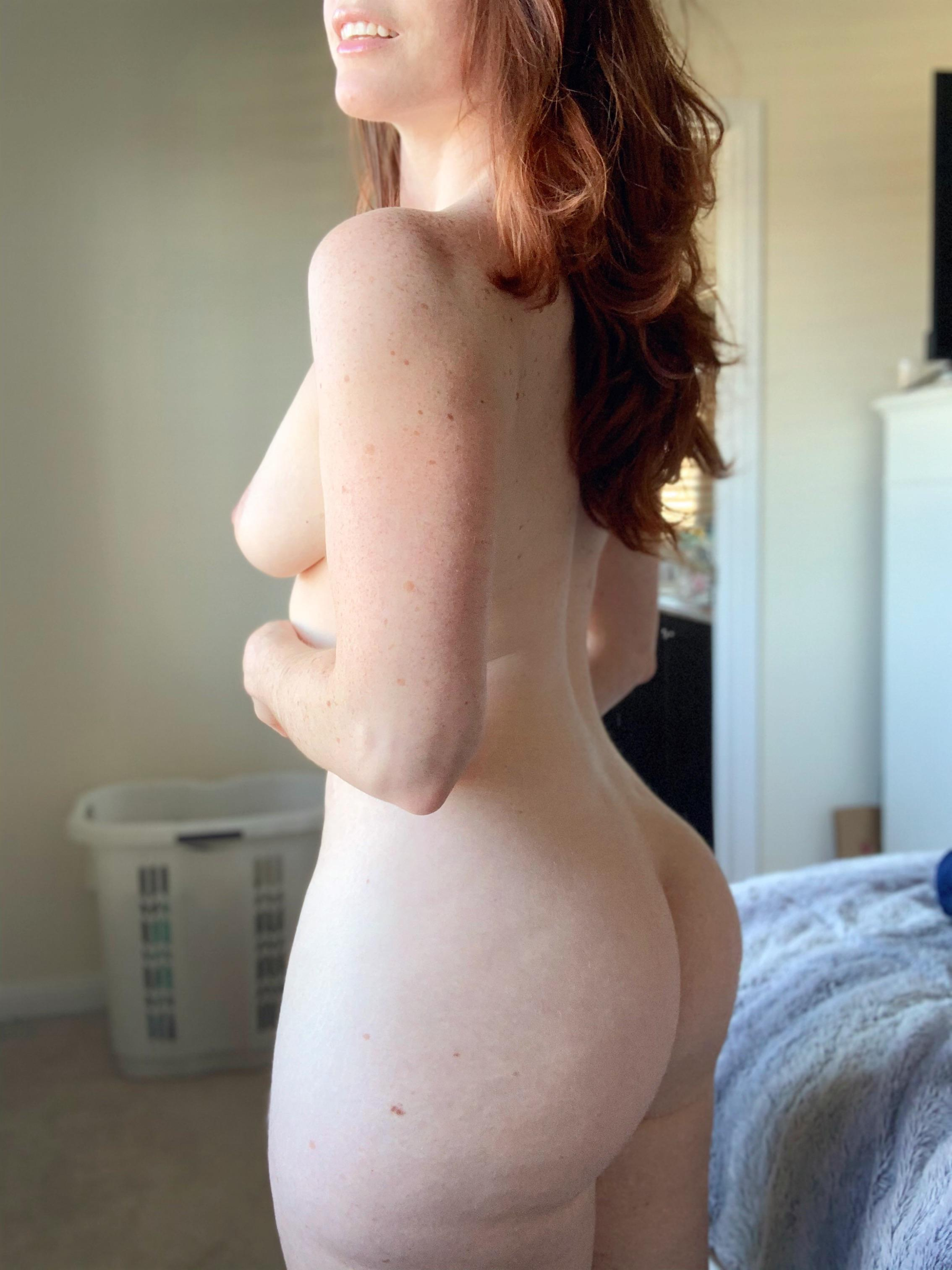 Nude ginger Hot Redhead
